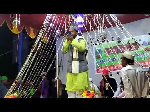 MUBARAK HUSAIN II Urse Mujahid e millat 2018 ll AT DHAMNAGAR SHARIF