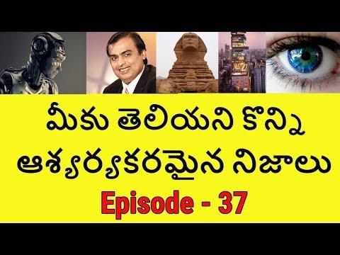 Amazing and Unknown Facts in Telugu | Interesting Facts | Telugu Badi