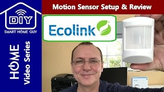 REVIEW: EcoLink PIRZWAVE2-ECO Z-wave Wireless Motion Sensor for DIY Smart Home Security