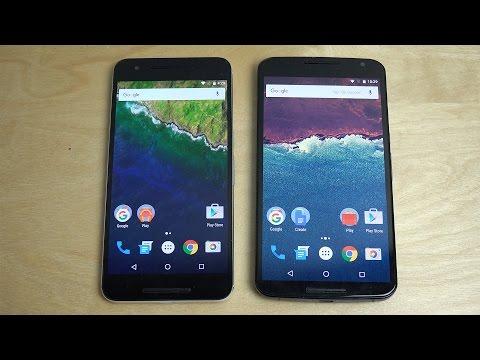 Nexus 6P vs. Nexus 6 - Android 6.0.1 Marshmallow Comparison!