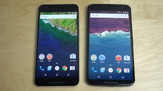 Nexus 6P vs. Nexus 6 - Android 6.0.1 Marshmallow Comparison!