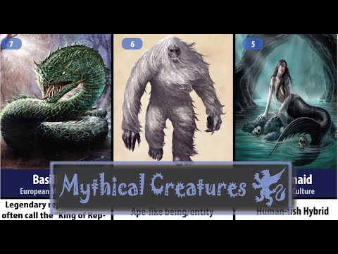 The Top 100 Mythical Creatures of Myth and Folklore