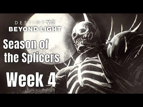 Destiny 2 Beyond Light: Season of the Splicers - Week 4 (PC No Commentary) |