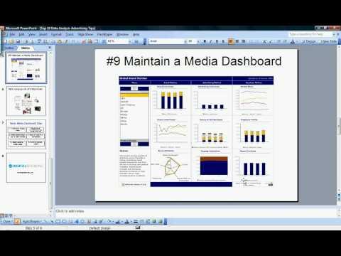 Data Analysis Advertising Tips #10 & #9