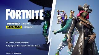 RGM Fortnite Let's Drop the bass behind the main menu (Old Glitch)