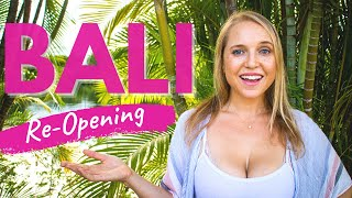 Bali Indonesia | Bali Reopening For Travel