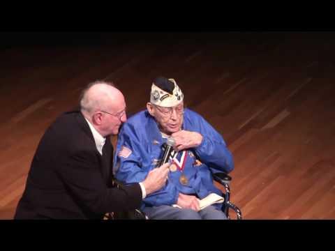 Pearl Harbor Survivor Dick Thill, USS Ward, interview on 75th Anniversary