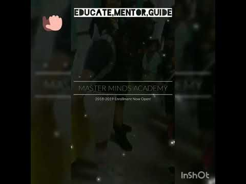 Master Minds Academy. Week Recap. Excellence is our goal.