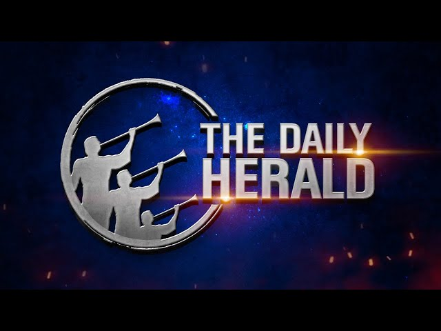 The Daily Herald   With God At Dawn   October 18 - Christ's Work Specified