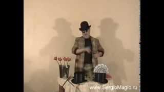 ♣ Фокус со шляпой шапокляк. Карточная шляпа двойной складки. Купить в нашем магазине.(Купить фокус со шляпой шапокляк на: http://sergiomagic.ru/goods/Fokus-so-shlyapoj-Skladnoj-kartochnyj-cilindr Мы вконтакте: http://vk.com/public55543083., 2013-07-06T18:26:57.000Z)