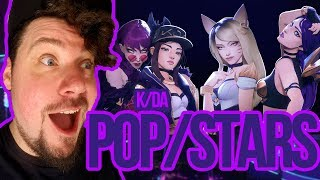 Mikey Reacts to K/DA - POP/STARS (ft Madison Beer, (G)I-DLE, Jaira Burns)