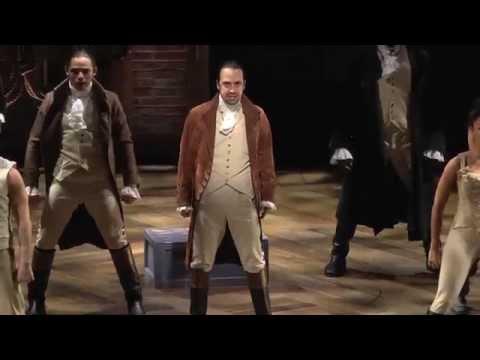 Hamilton at The Public Theater - Montage