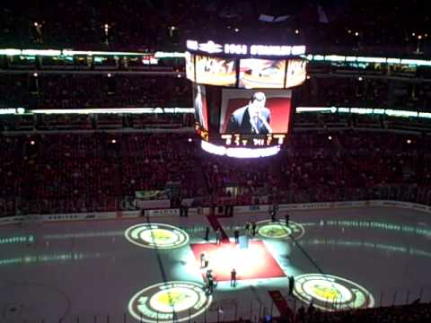 Chicago Blackhawks 50th anniversary celebration of 1961 champs