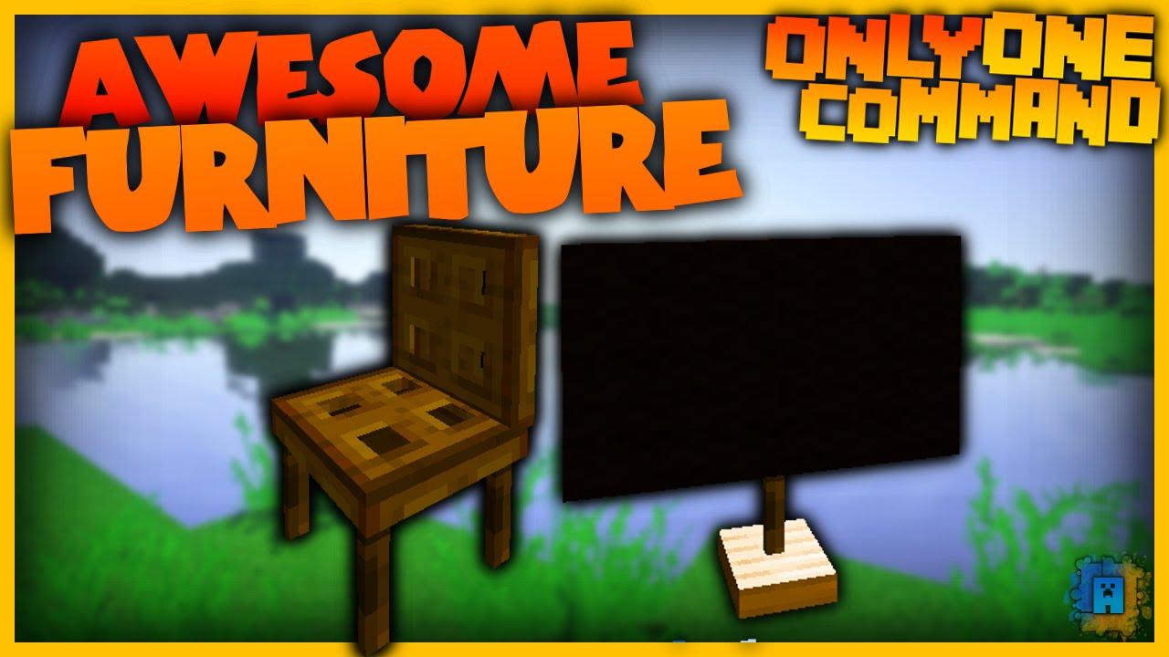 Minecraft Command: Furniture (1 8 1) | IJAMinecraft