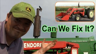 Oliver 1650 Diesel Tractor - Hard Start / No Start