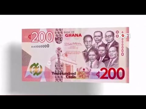 ALL THE DETAILS ABOUT THE NEW 200,100 GHANA CEDIS NOTES