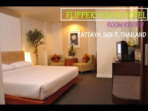 FLIPPER HOUSE HOTEL ROOM REVIEW, PATTAYA SOI 7, THAILAND