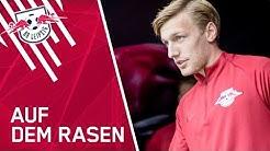Nach langer Verletzungspause wieder da! Emil Forsberg trainiert wieder!