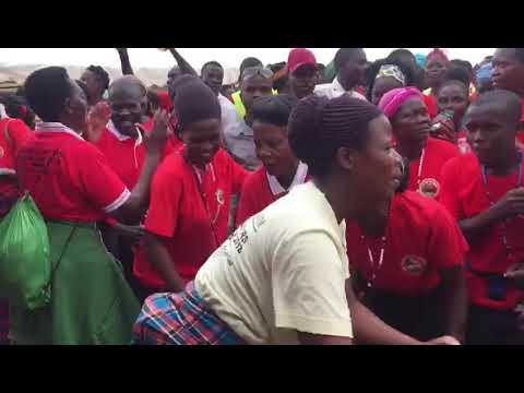 TORORO FOOT PILGRIMS ENTER NAMUGONGO TODAY