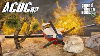 GTA 5 Roleplay ACDCrp - #73 -  Sky Tour Gone Wrong.