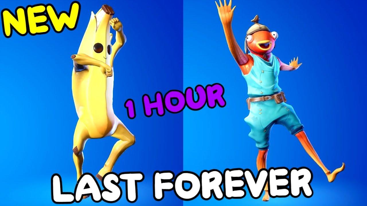 Fortnite Last Forever Emote 1 Hour Youtube
