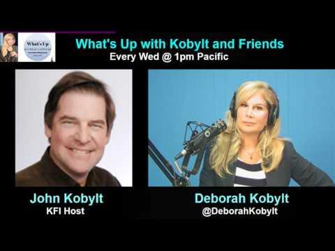 Deborah Kobylt LIVE: KFI's John Kobylt Talks Politics