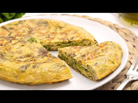 Tortilla De Lechuga Muy Fácil De Hacer Y Deliciosa