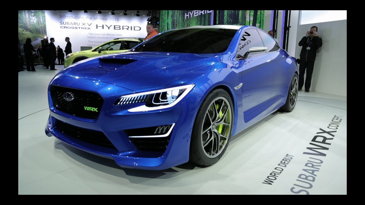 Subaru Wrx Concept 2013 New York Auto Show Youtube