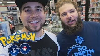POKEMON GO AT GAMESTOP (CATCHING POKEMON AT GAMESTOP STORES)
