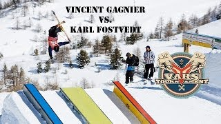 S.K.A.T.E on snow : Vincent Gagnier VS Karl Fostvedt / semi finals Vars Tournament