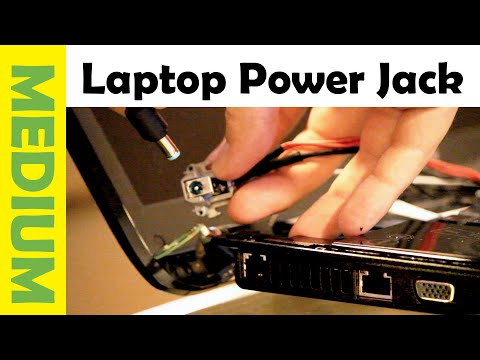 How to Fix Laptop DC Power Jack | Repair Charging Port