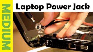 How Fix Laptop Dc Power Jack