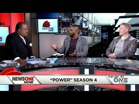 Omari Hardwick, Joseph Sikora Talk New Season Of 'Power,' Politics In Washington
