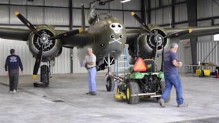 Rare Behind The Scenes Footage with Pilot and Crew of the Lewis Air Legends Douglas A-20 Havoc