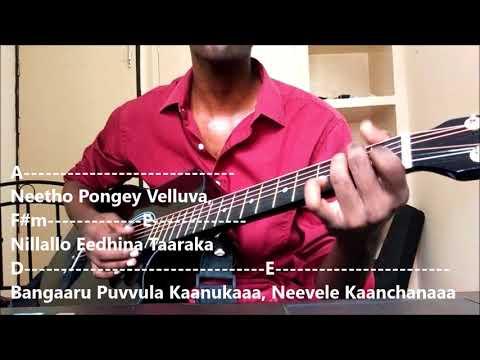4 Chords, 4 Telugu Songs Mashup on Guitar