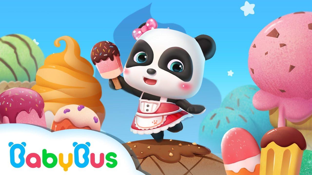 雪糕工廠 | 兒童教育遊戲 | 官方預告視頻 | 寶寶巴士 - YouTube