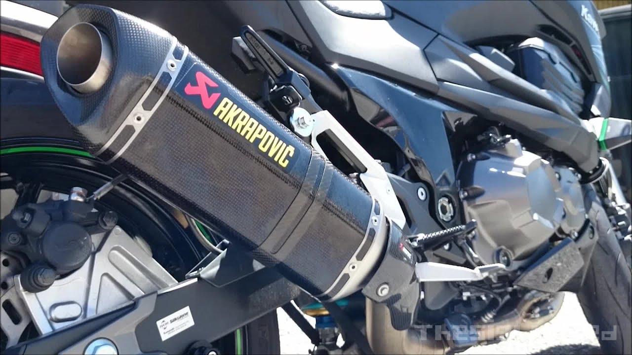 Kawasaki Z800 Akrapovi Full System Exhaust
