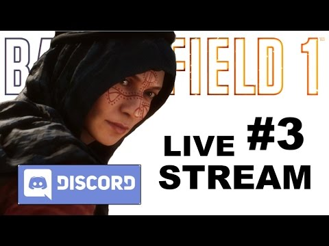 Battlefield 1 LIVE: Testing New Voice/Text Chat App Discord! Come Join My Server! (Non-Sponsored)