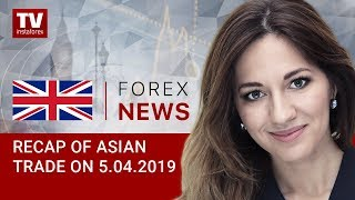 InstaForex tv news: 05.04.2019:  Market-moving news comes from US and China