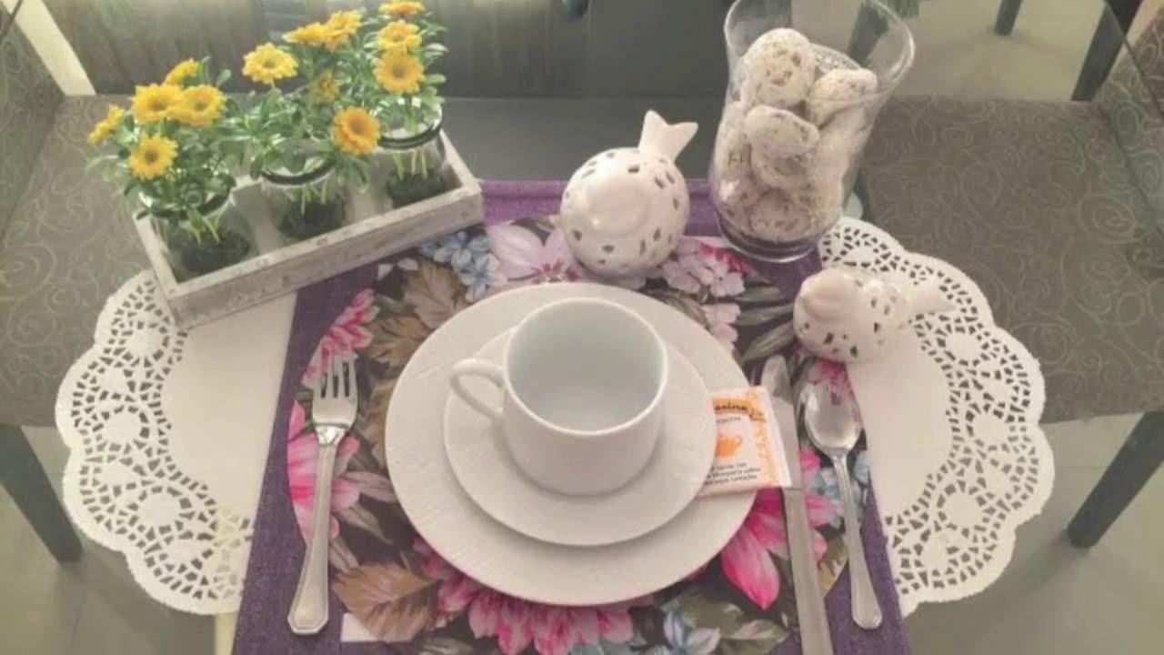 Como decorar la mesa para un té entre amigas - YouTube
