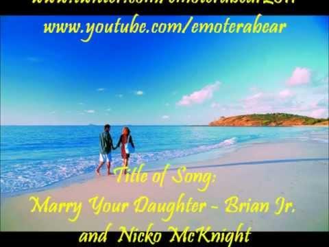 Marry Your Daughter (Girl Side Version) - Karaoke