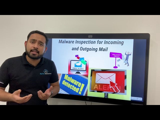 How an Email security system can inspect for Malware in Incoming and Outgoing mail?