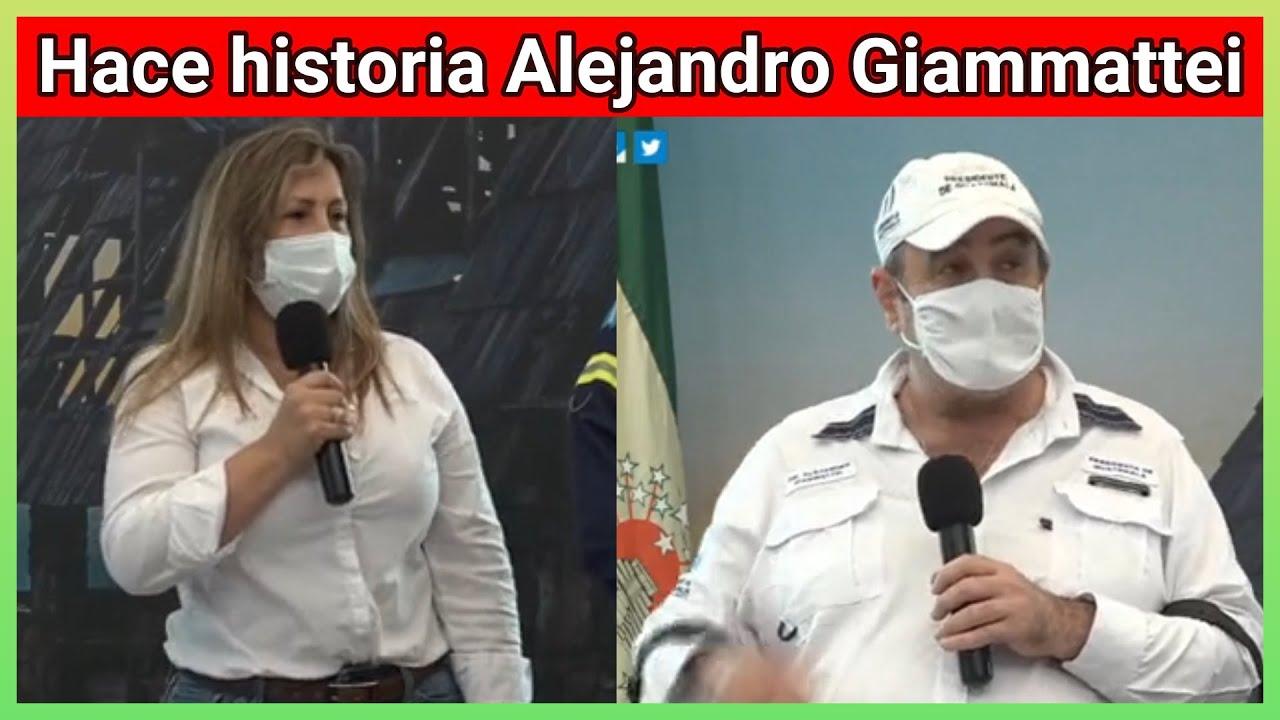 Hace historia el Presidente Giammattei al invertir en departamentos olvidados de Guatemala