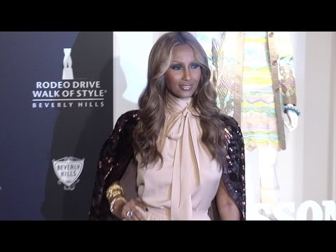 Iman, David Bowie's wife of 24 years