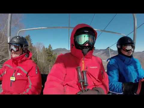 Loon Mountain 03-05-2017 Part 1 Blue Ox Trail