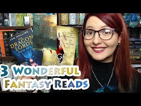 3 Wonderful Fantasy Books | Age of Assassins | Age of Swords | Dragon Lords: False Idols