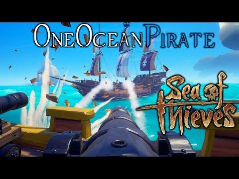 Sea of Thieves #2 - Five Man Crew! [Final Beta Weekend]