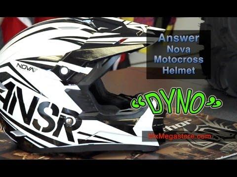 2014 Answer Nova Motocross Helmet Review by MxMegastore