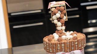 كيكة شوكولاتة ضد الجاذبية  | غادة التلي