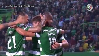 Goal   Golo M. Acuña: Sporting (2)-0 Vitória SC (Liga 19/20 #8)